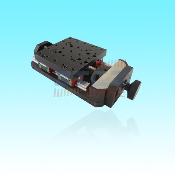 zt101ml50-500h 手动高精度平移台,手动位移台 x轴滑台 手动平移台图片